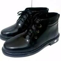sepatu boots pria pdh pdl dinas kerja polri tni security dishub