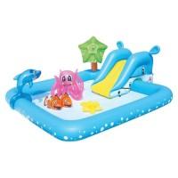 Kolam Renang Anak Fantastic Aquarium Play Pool Bestway + Pompa Readyy