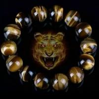 promo gelang batu 12 shio ml tiger aye atau biduri sepah Dijamin ori