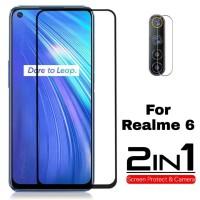 Tempered Glass Realme 6 Free Lensa Camera