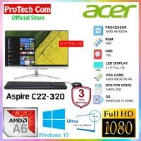 ACER PC ALL IN ONE C22-320 - A6-9220e 4GB 1TB RADEON R4 21.5 FHD W10
