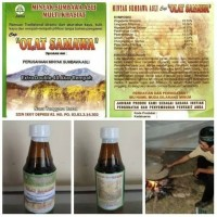 Minyak berbagai macam khasiat Asli Sumbawa cap OLAT SAMAWA 150ml