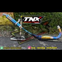 Knalpot Satria 2 Tak Repsol Bluemoon Stainless TNX Racing Not Creampie