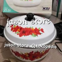 Panci enamel besar 40 cm/Oriental stock pot Ideal 40 cm