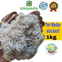 ikan asin teri nasi medan size:kecil-1kg