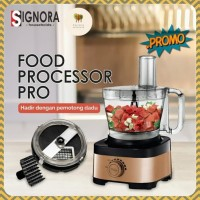 Signora PRO Food Processor no cubic cutter| blender juicer portable