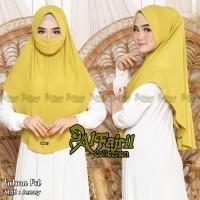 Hijab Masker Instan/Kerudung Masker Pet/Niqob Fatma/Jilbab Bergo Maske
