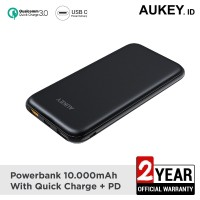 Aukey Powerbank 10000mAh with Power Delivery - 500379