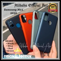 SAMSUNG GALAXY M21 M215 UME ECO ORIGINAL HARD CASE MATTE SLIM PC COVER