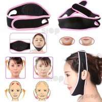 3D Shape Oval Face Slimming Belt / Face Lift up Belt Pelangsing Wajah