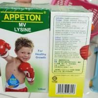 Appeton multivitamines lysine syrup120 ml