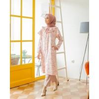 Baju Wanita Marinka Mididress Pink Marshmallow