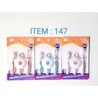 I.Q. BABY Training toothbrush/sikat gigi bayi isi 3 Pcs I.Q. Baby