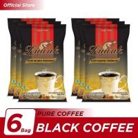 Kopi Luwak Murni Black Coffee Bag 165gr - 6 Pcs
