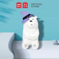 MINISO Boneka We Bare Bears Berbahan Katun Bantal Lembut Dekorasi
