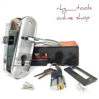 Kunci Pintu Kecil Silinder Gg Bulat l Gagang Rumah l Handle Full Set