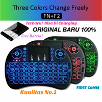 Mini Keyboard i8 Wireless Touchpad Original with Color Backlight #1