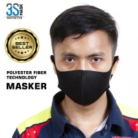 Masker Import Polyster Fiber Masker Non Medis Anti Air