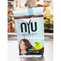 NYU Creme Hair Colour 4.00 NATURAL BROWN 1 sachet | Pewarna Rambut