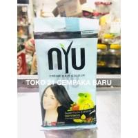 NYU Creme Hair Colour 2.00 NATURAL BLACK 1 sachet | Pewarna Rambut