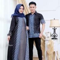 Gamis Couple Batik Modern Motif Terbaru
