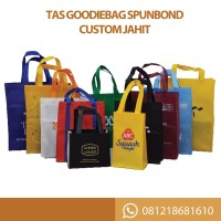 Tas Goodie Bag Spunbond Custom Jahit
