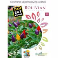 BIBIT CABE BENIH Cabai Pelangi Bolivian Rainbow Pepper bell IMPORT ORI