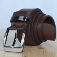 Ikat Pinggang Kulit | Cokelat Tua | Enka Leather
