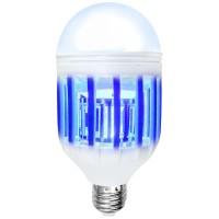 Lampu LED 15W Anti Nyamuk Mosquito Bug Zapper Light Bulb - Wh