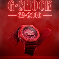 Jam Tangan Cowok Gshock GA2100-4DR Original (4.5cm)