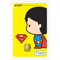 Kartu Flazz Limited Edition Justice League Chibi Superman