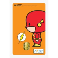 Kartu Flazz Limited Edition Justice League Chibi Flash