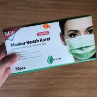 MASKER BEDAH KARET ONEMED 3PLY / MASKER BEDAH / SURGICAL MASK
