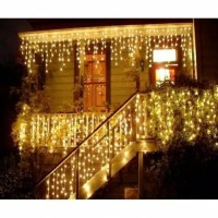 Lampu Natal Tirai Led Curtain Light | Tumblr Tirai Lampu Spesial