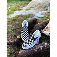 Vans Slip On checkerboard black white Japan Market original