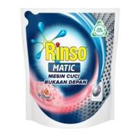 RUMAH TANGGA RINSO MATIC CAIR KONSENTRAT MESIN CUCI FRONT LOAD 1.6L
