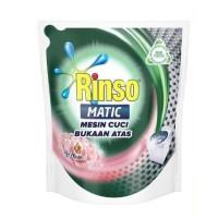 RUMAH TANGGA RINSO MATIC CAIR KONSENTRAT MESIN CUCI TOP LOAD 1.6L