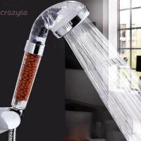Shower Head Ionic Filter Portable Stainless Steel Home Bedroom Soft