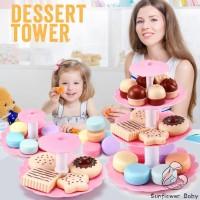 Zz-kitchen Mainan Masak-masakan Potong Kue Bahan Plastik untuk