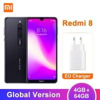 Smartphone Xiaomi Redmi 8 Dual Kamera 12MP RAM 4GB ROM 64GB Baterai