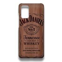 Hard Case Casing Jack Daniels On Wood For Samsung Galaxy A51