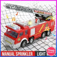 Mainan Mobil Pemadam Kebakaran Elektrik Bentuk Truk Jupiter Dengan
