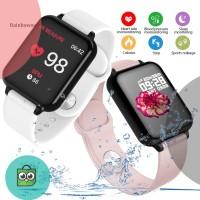 B57 Smartband Layar Warna Anti Air dengan Monitor Tekanan Darah /