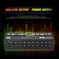 Caline CP-05 Power Supply 10 Port Isolator Output untuk Pedal Efek