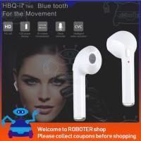 Sale HBQ i7 TWS Earphone Mini Wireless Bluetooth V4.2