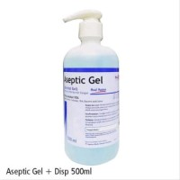 Onemed aseptic gel 500ml hand sanitizer antiseptic. Pembunuh kuman