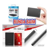 POWER BANK VIVAN MINI ATM VPB-H5 5000 mah POWERBANK ORIGINAL VPBH