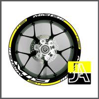 stiker list velg motor yamaha Mio 125 ring 14