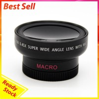 HD 37MM 0.45x Wide Angle Macro Lens Macro Conversion Lens for Canon