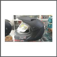jual helm Yamaha MTX Model Croos Redy Warna Silver